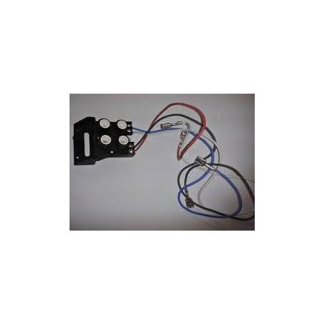Piloto calor residual 4 zonas c/soporte