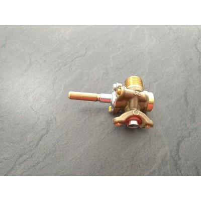 Grifo Gas Q/Mediano. Salida lateral Butano