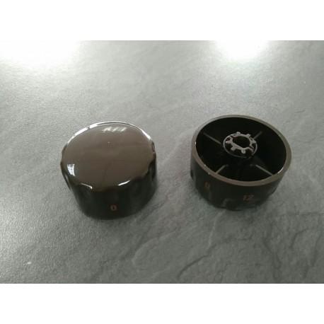 Mando 12p vt,vtc marron s-10 vitro Teka