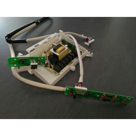 Conjunto placa control+leds+display dw7 41 fi lavavajillas Teka