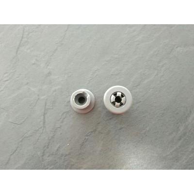 Rueda + perno gris cesto superior dw7-57 lavavajillas Teka