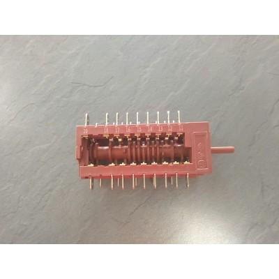 Conmutador 11pp te hpe 735 inox e00 vr02
