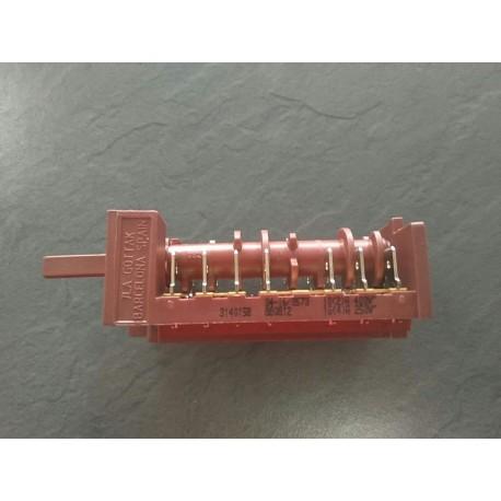 Conmutador 8p hl 830 inox e02 vr00