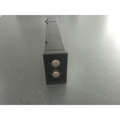 Conjunto mandos cnl2 2002 inox campana Teka