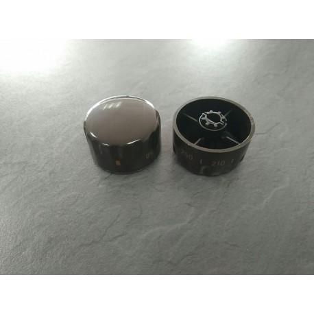 Mando 0-250 marron s-10 horno Teka
