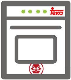 Localizar el modelo y número de serie de su horno eléctrico Teka