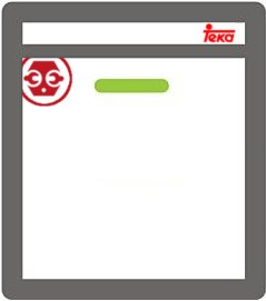 Localizar el modelo y número de serie de los lavavajillas Teka
