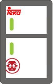 Localizar el modelo y el número de serie de las neveras y congeladores Teka